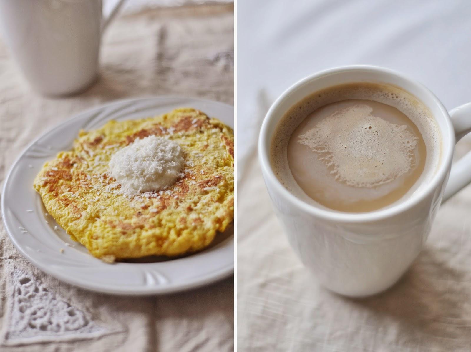 Mocno waniliowy omlet biszkoptowy
