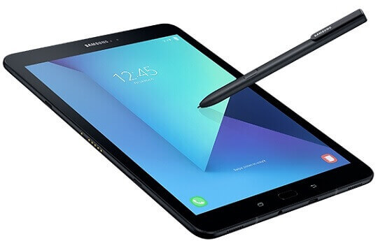 Samsung Reveals Galaxy Tab S3 with S Pen and Keyboard Attachment