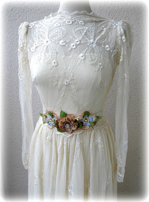 Wedding flower belt