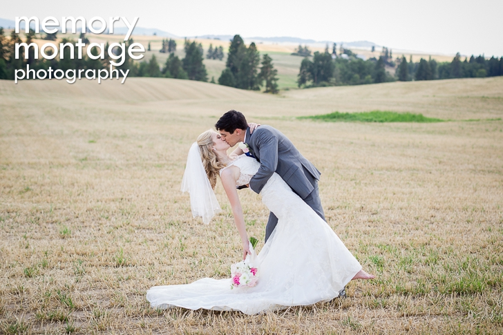 A Touch of Country Wedding in Rockford, Washington || Stacie + Daniel