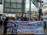 Peduli Palestina, Ikatan Mahasiswa Muslim Indonesia IBMI Buat Aksi Penggalangan Dana