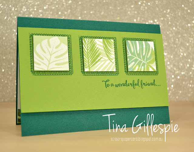 scissorspapercard, Stampin' Up!, Swirly Frames, Dragonfly Dreams, Tropical Escape DSP