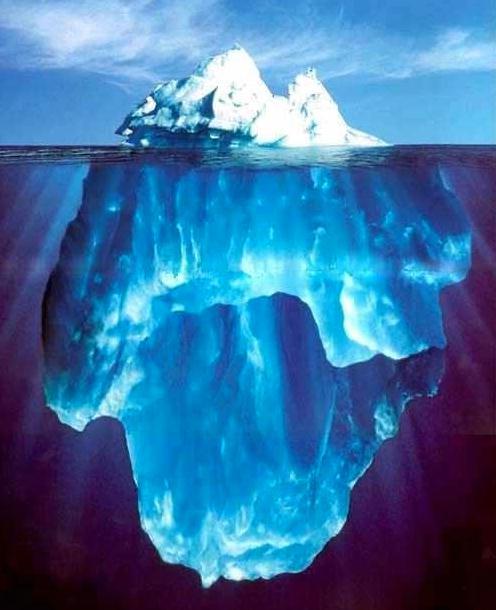maria mckenzie ernest hemingway s iceberg theory the tip of the iceberg