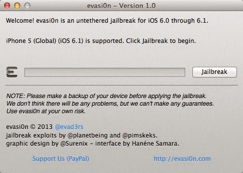How to Untethered Jailbreak iPhone5 on 6.1 using Evasi0n : Cydia Apple