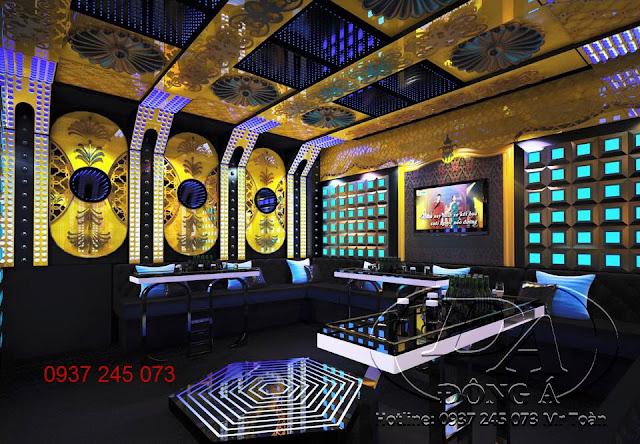 Thiết kế thi công cách âm karaoke bar