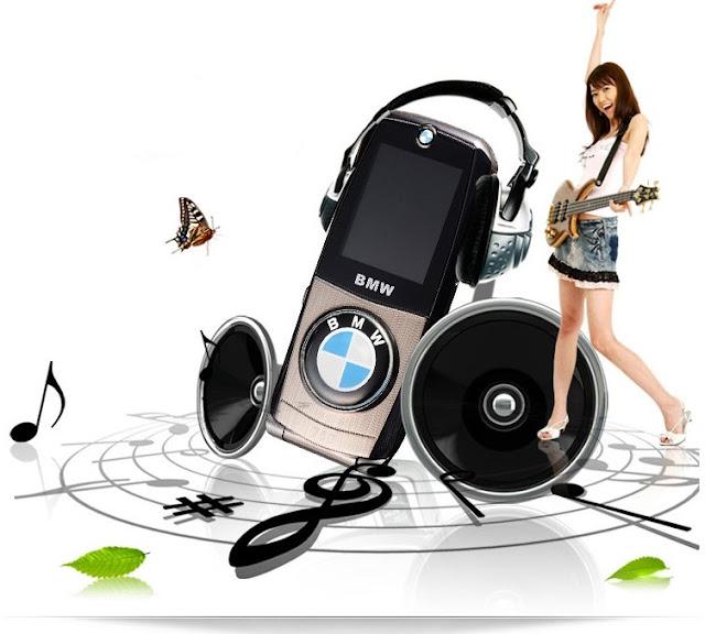 Điện thoại BMW 760 với chức năng nghe nhạc