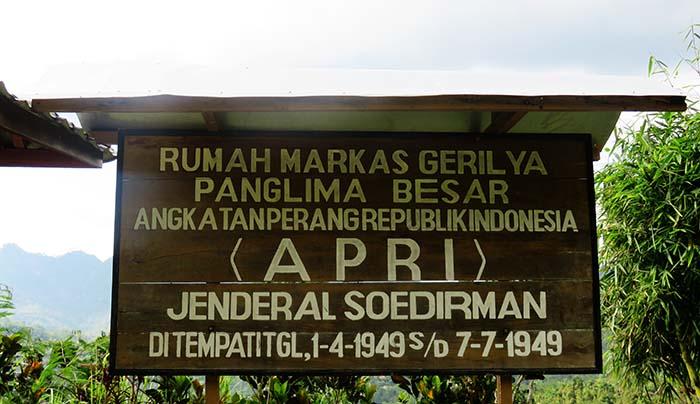 Markas Jenderal Sudirman di Pakisbaru, Pacitan