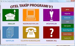 C# Otel Rezervasyon Otomasyonu Programı Ücretsiz İndir [v1.4]