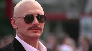 James Franco is a Bald Men with Mustache