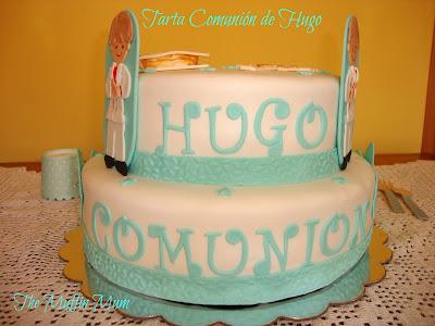 Tarta comunión Hugo
