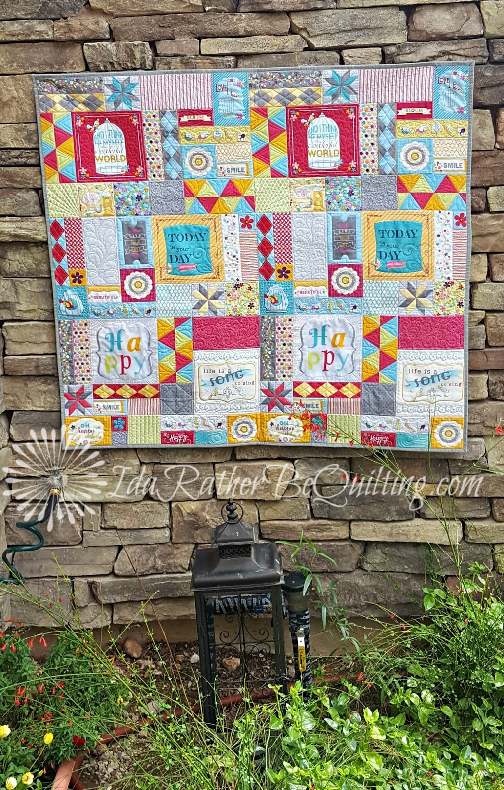 Ida Rather Be Quilting: