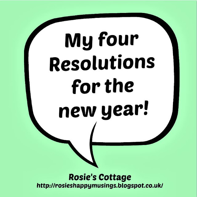 Rosies New Year Resolutions