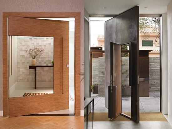berbagai Desain Pintu Besar Minimalis