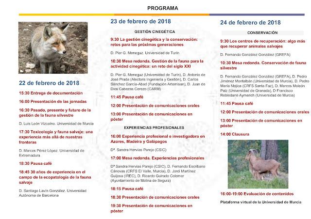 Retos y experiencias en la gestión de la fauna silvestre.