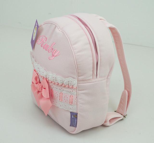 mochila lencera princesa