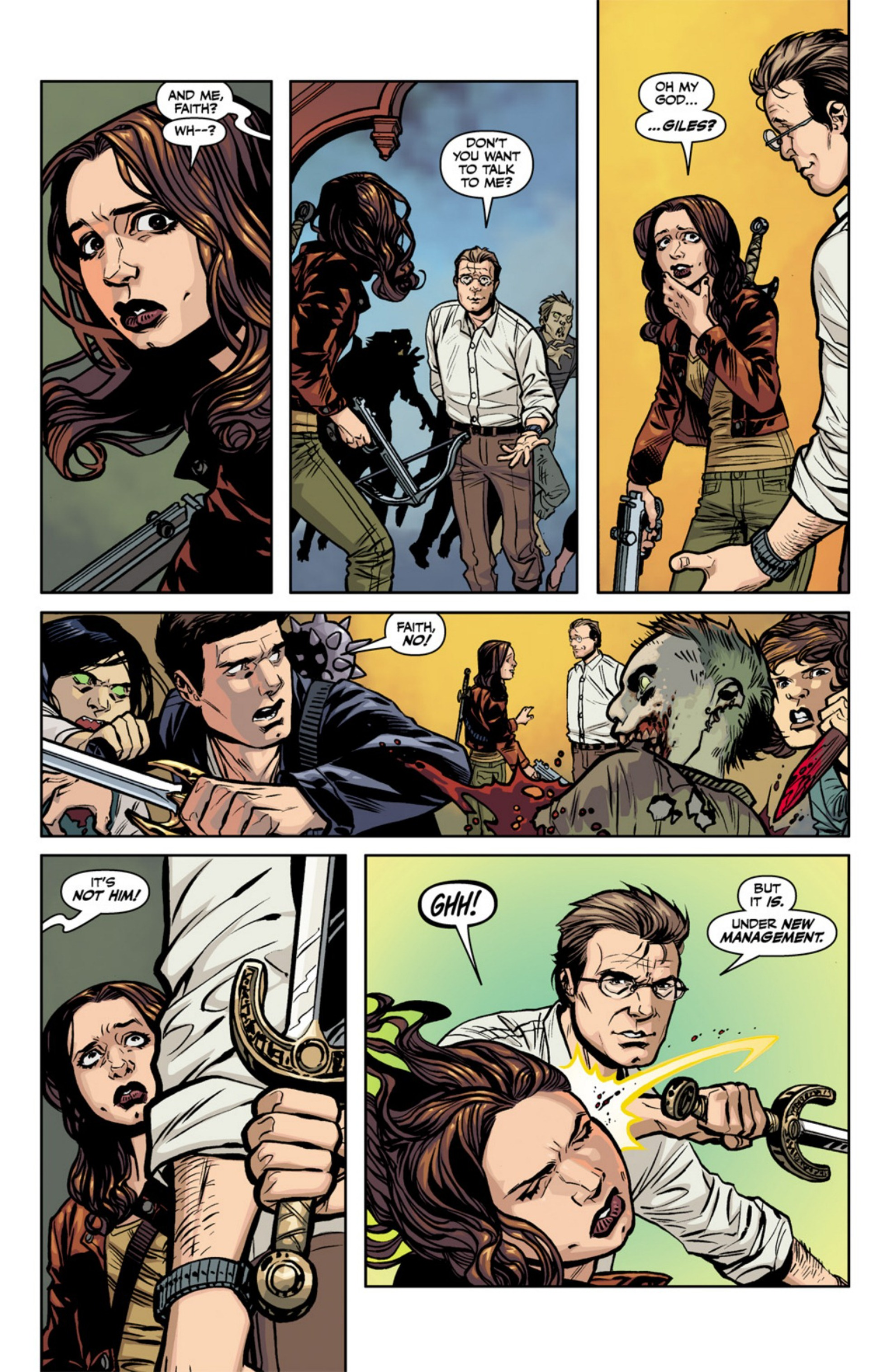 Read online Angel and Faith comic -  Issue #18 - 10