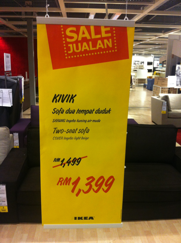 Attractive IKEA price slash