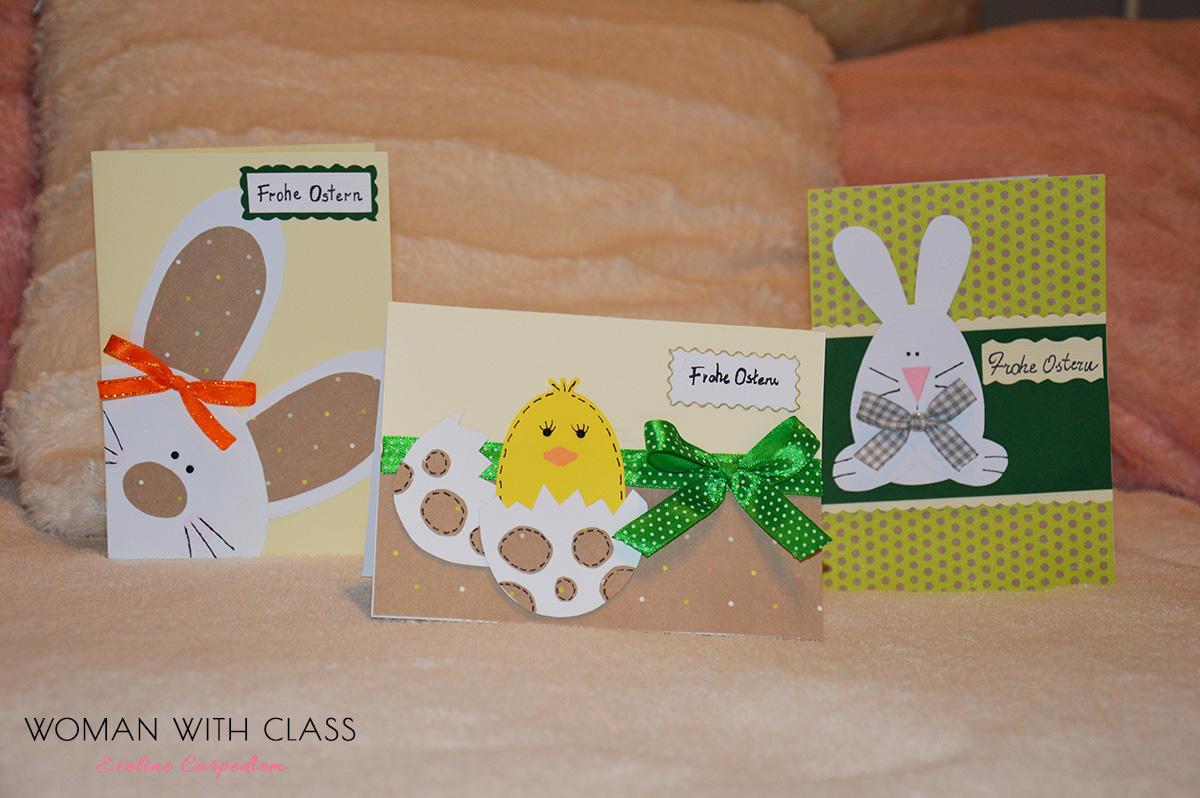 Woman with class: Kartki wielkanocne   ręcznie robione | Easter