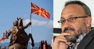 Δημοσιογράφος Σκοπίων: «Δεν έχουμε καμία σχέση με τον Μέγα Αλέξανδρο»