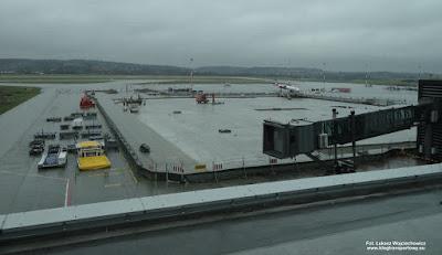 Kraków Airport - widok z tarasu widokowego