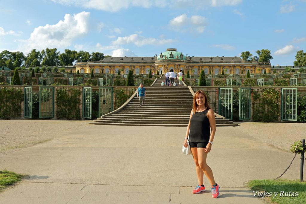 Palacio Sanssouci, Postdam
