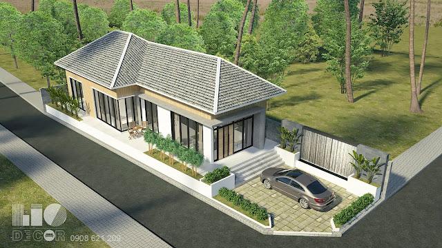 Thiết kế nhà vườn hiện đại 2019 2