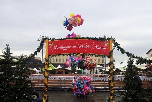 Mercado Villagio di Babbo Natale em Florença