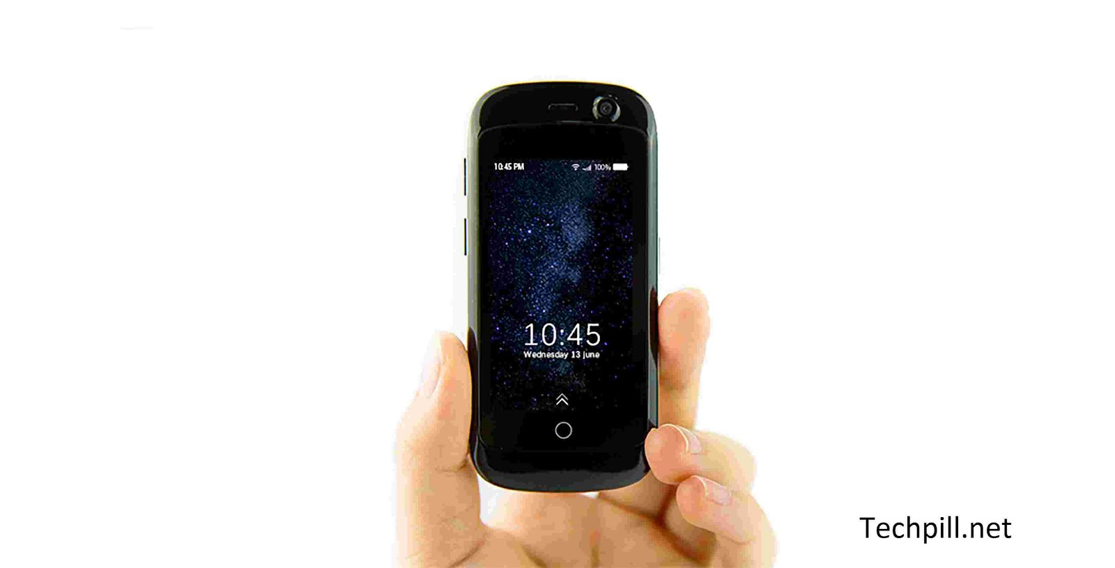 Jelly smartphone: The World's Smallest 4G Smartphone