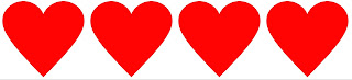 Resultado de imagen para 4 corazones