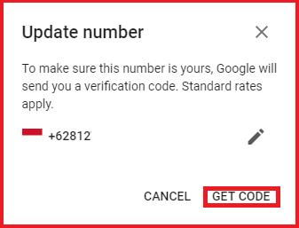 Cara Mengganti Nomor Hp Telepon Di Gmail Yang Hilang Atau Sudah