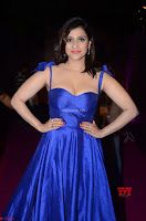 Mannara Chopra in Deep Neck Blue Gown at Zee Telugu Apsara Awards ~  Exclusive 009.jpg