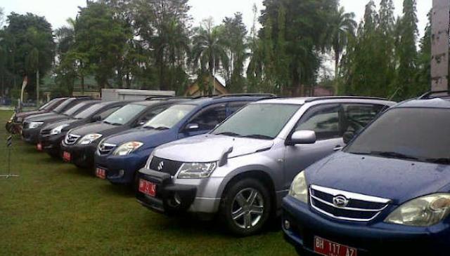 Semua Mobil Dinas Disegel Agar Tidak Digunakan Mudik