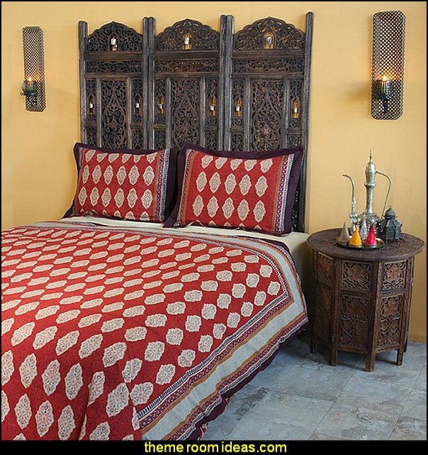 Moroccan Print King Duvet Cover