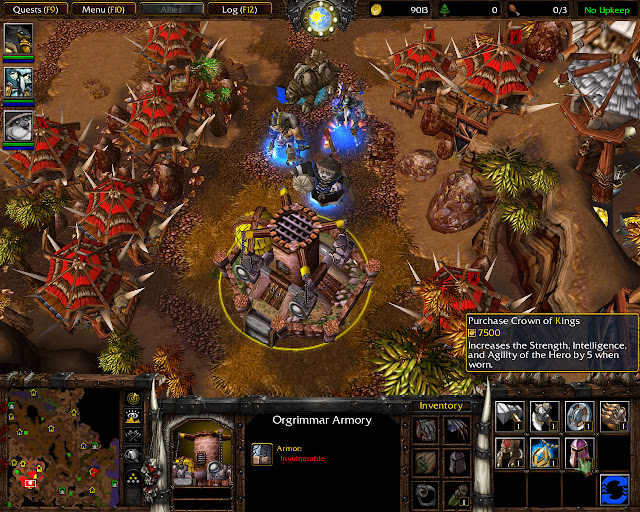 Crown of Kings Screenshot  | The Founding of Durotar | Warcraft 3: The Frozen Throne