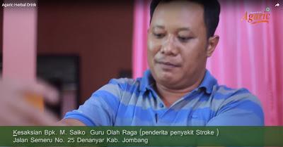 Video Testimoni Obat Stroke Agaric Herbal Drink