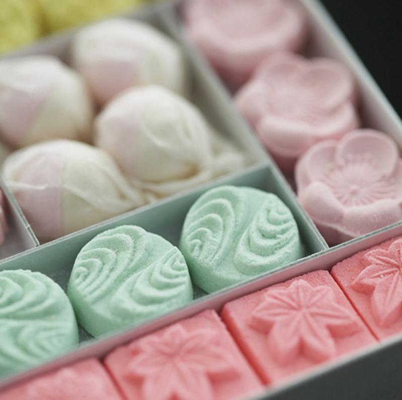 wagashi, un mini pastel japonés
