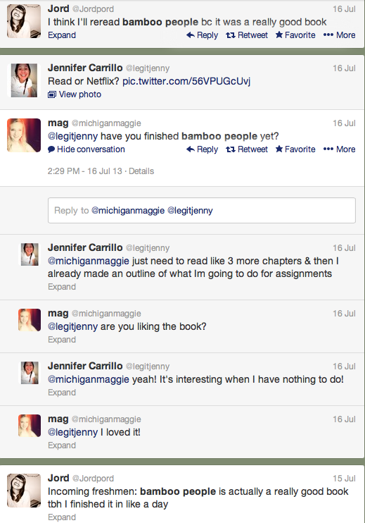 AuthorMitaliPerkins: Is it Pathetic When a Twitter Search Jumpstarts