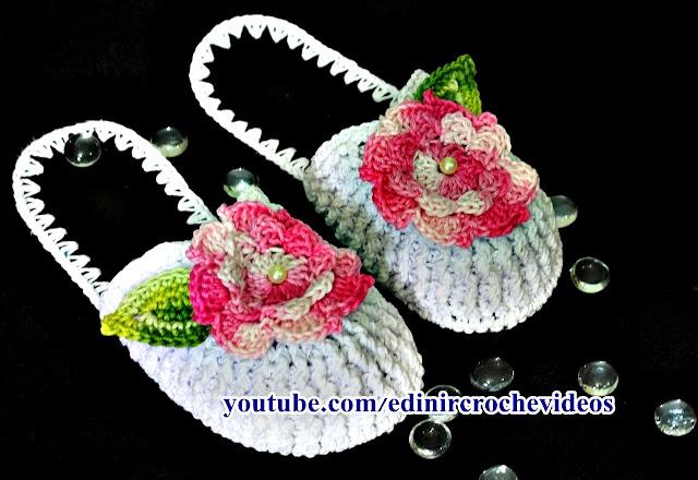 cvhinelo de croche com flores fechado na frente aprender croche com edinir croche youtube curso de croche facebook euroroma barbante