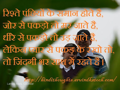 Relationship, Birds, Thought, Hindi, Life,