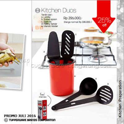 Kitchen Duos ~ Katalog Tupperware Promo Juli 2016