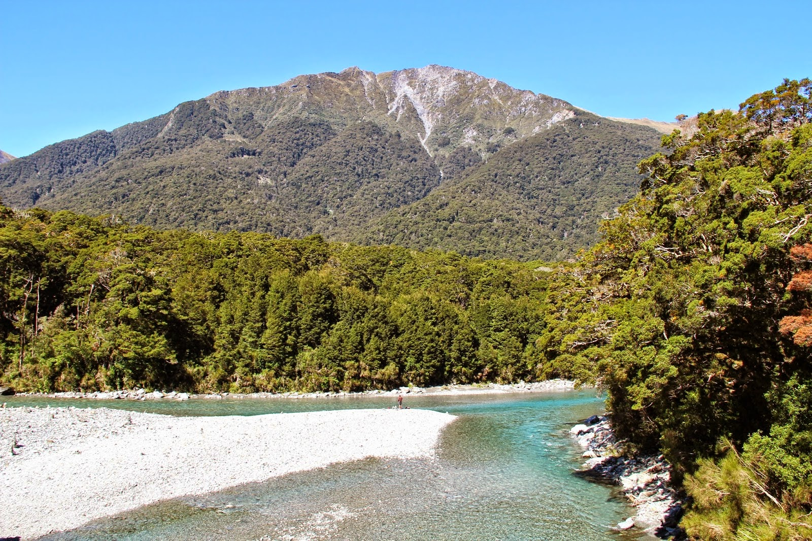 Blue Pools Haast Pass