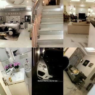 Photos Of Footballer Obafemi Martins Fully Customized Luxury Mansion In Lagos