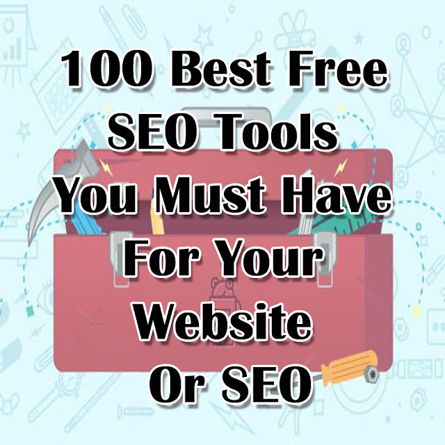 100 Best Free SEO Tools