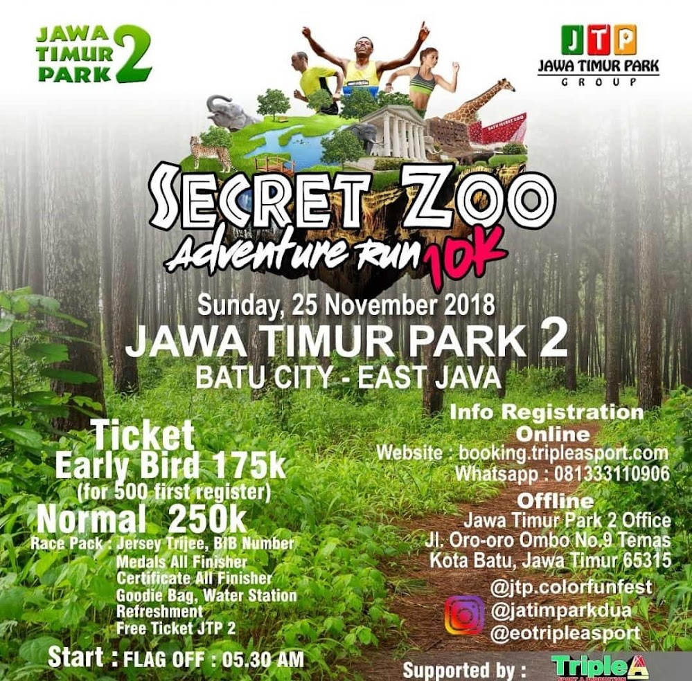 Secret Zoo Adventure Run • 2018