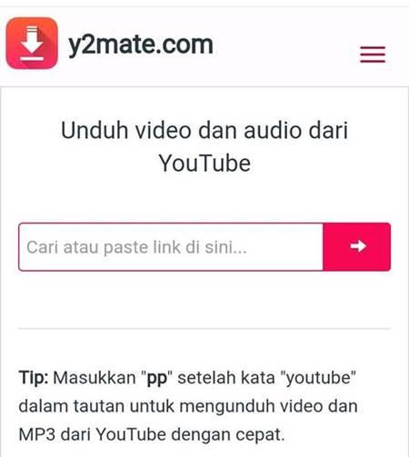 cara download youtube tanpa software