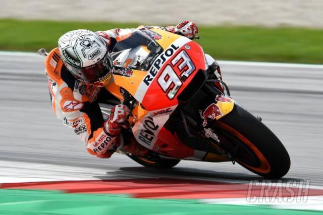 Marquez Pole Position MotoGP Austria 2017, Rossi P7