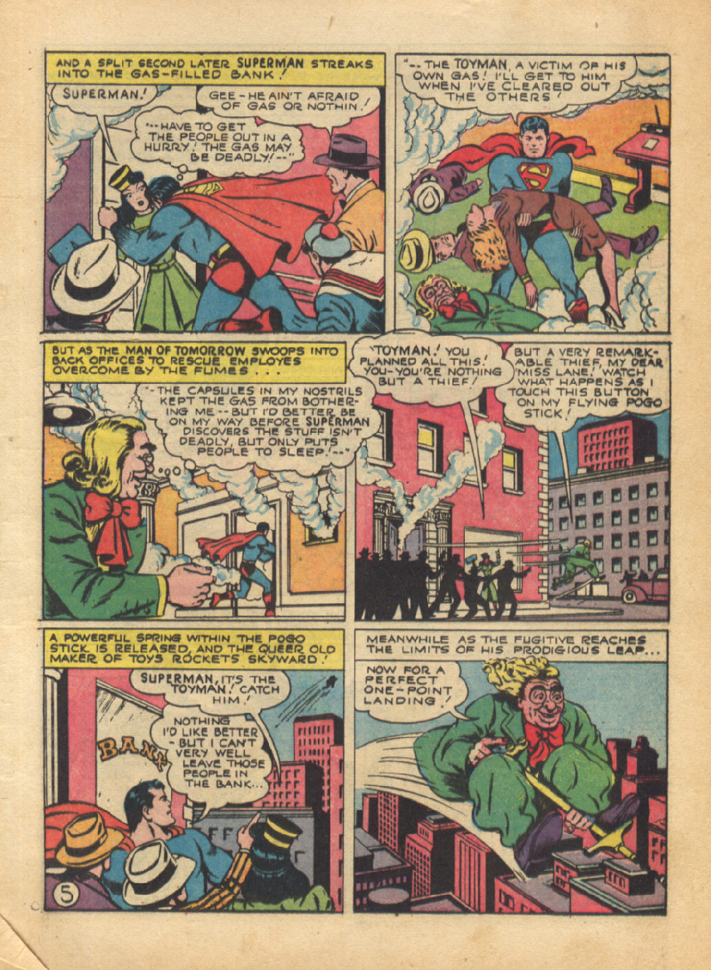 Read online Action Comics (1938) comic -  Issue #64 - 7