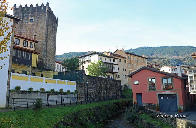 Casas de Salas, Puente río Nonaya, Asturias