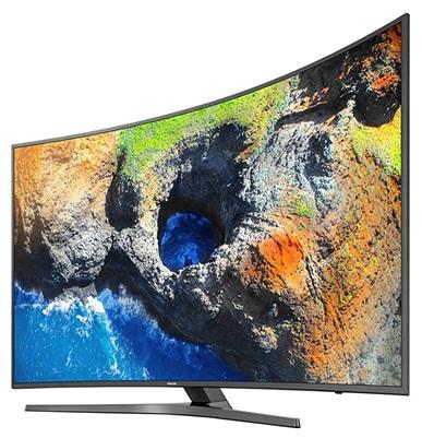 Samsung Serie 6 MU6645: panel curvo 4K con soporte HDR nativo