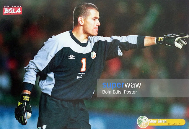Poster Shay Given (Irlandia)
